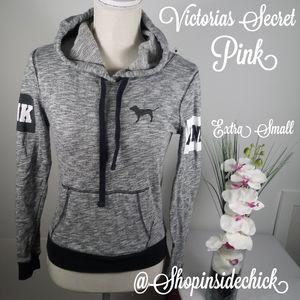 🍓$20 Pink By Victorias Secret Hoodie XS Drawstrin